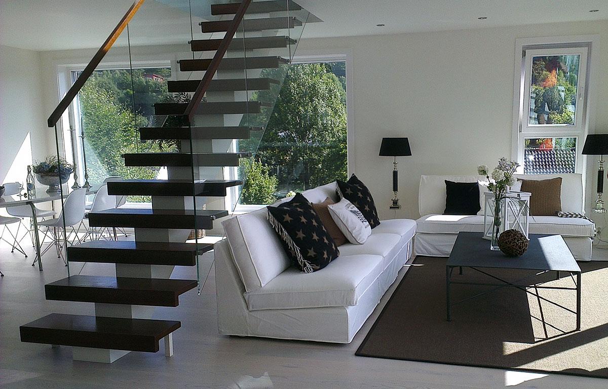 stue-interiør - foto