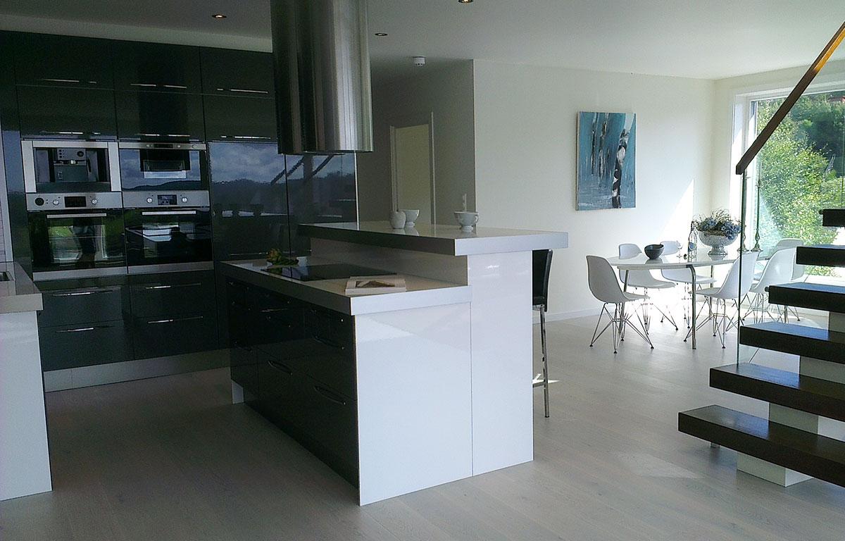 kjøkken-interiør - foto